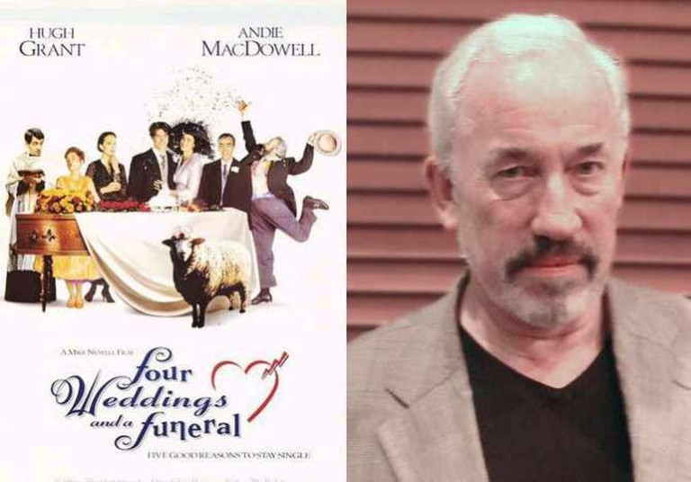 Four Wedding And A Funeral and Simon Callow