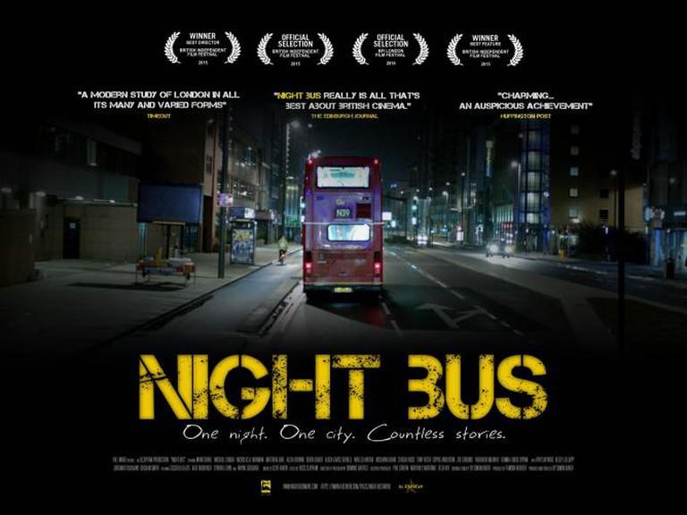Night Bus Poster | Courtesy of Simon Baker