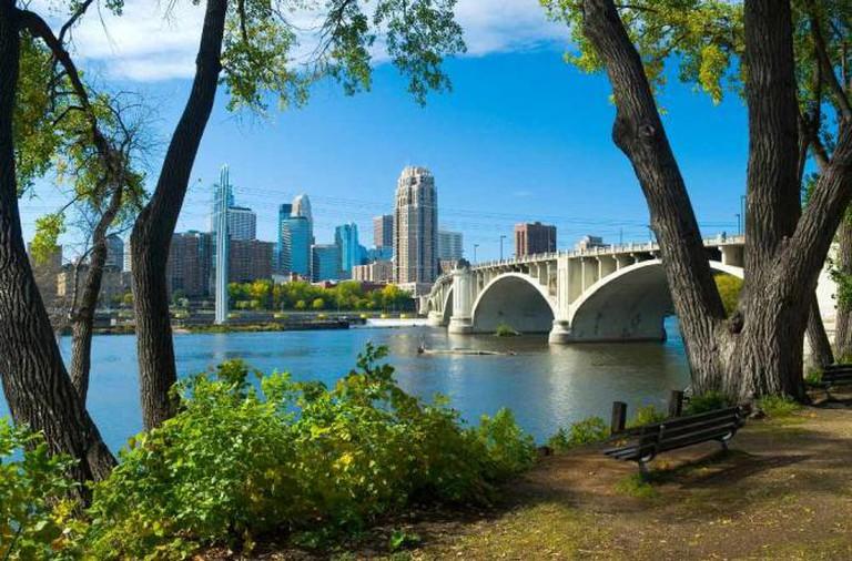 Minneapolis skyline   © Meet Minneapolis