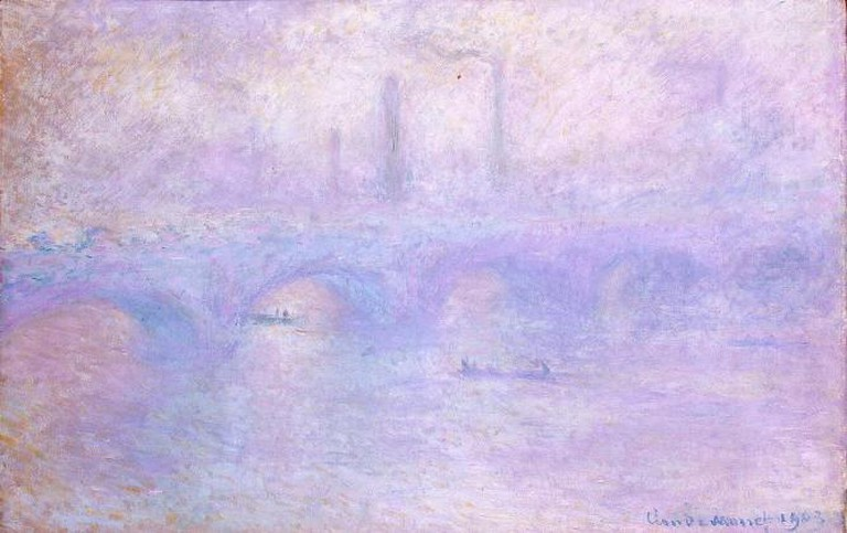 Waterloo Bridge in Fog, by Claude Monet, 1903 | © Hermitage Museum/Wikicommons