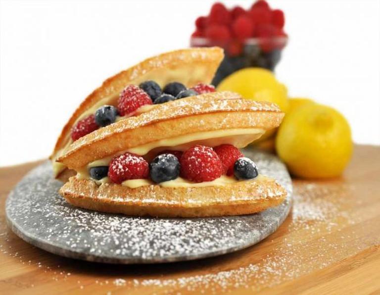 Lemon Cream and Berries   Courtesy of Bruxie