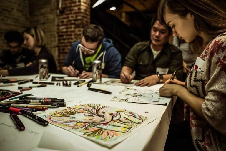 Draw By Night | Courtesy of Katerina Lyadova