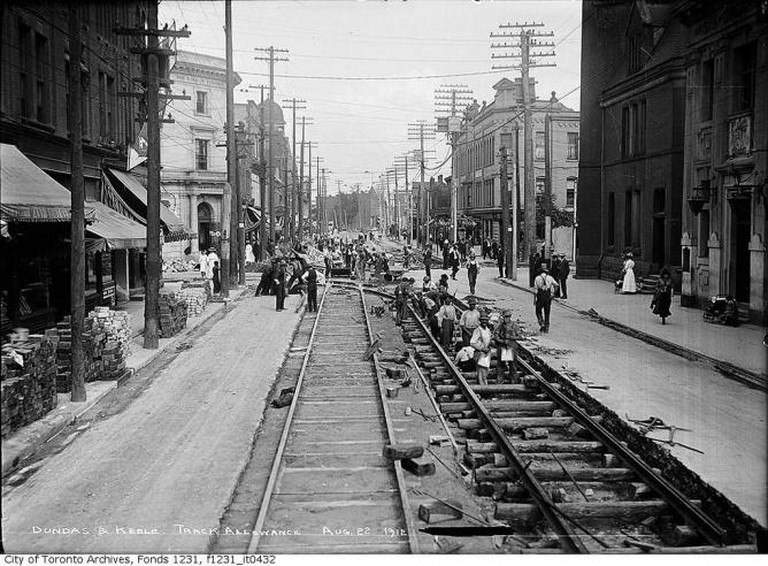 Historic photo of The Junction, Toronto | © Arthur Goss/Toronto History/Flickr
