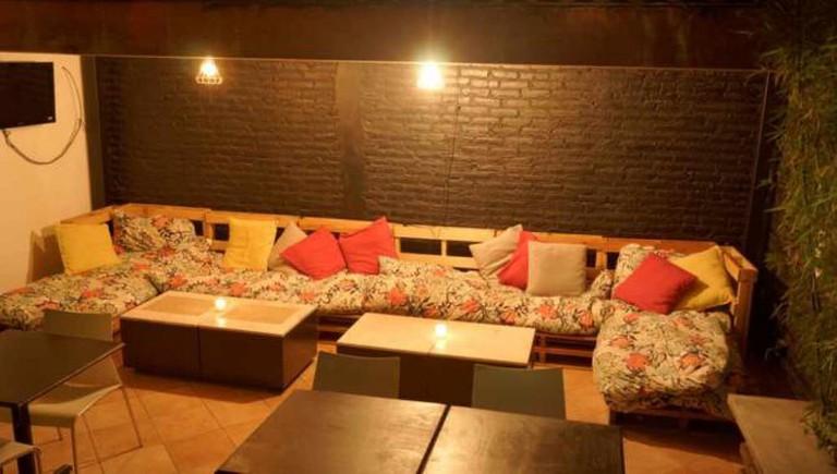 Wine Terrace | courtesy of El Estanquillo