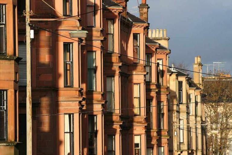 Tenements on Kersland Street, Glasgow | © BobtheLomond/Flickr