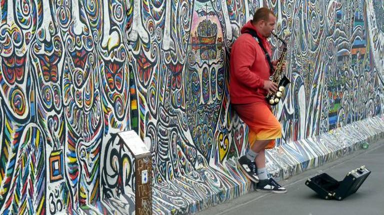 Berlin Street Musician