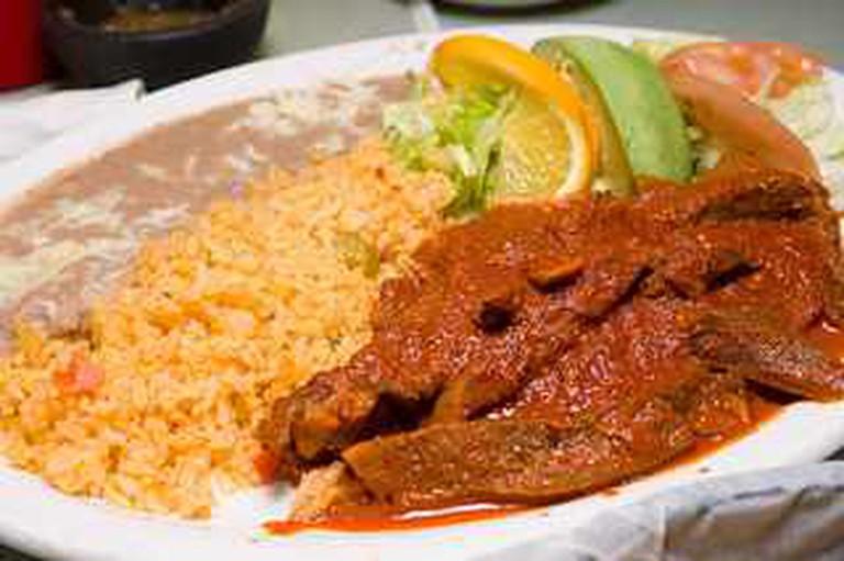 Taqueria El Porton dish