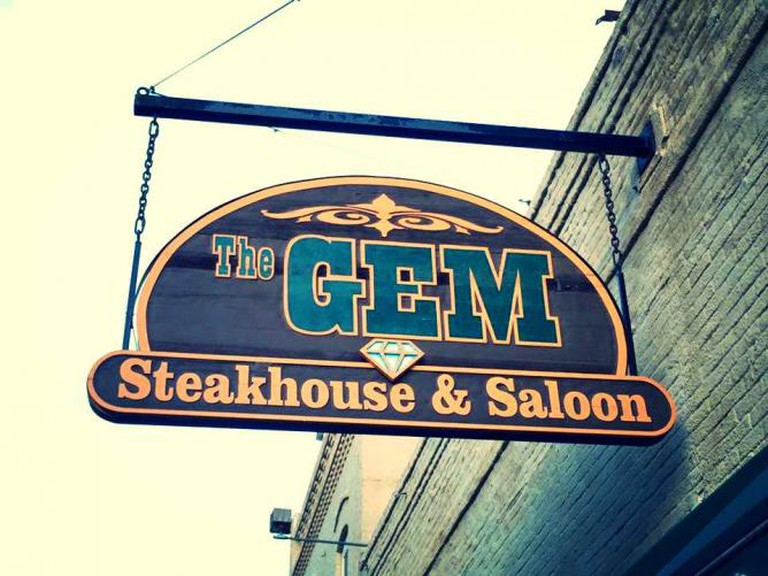 Courtesy of Gem Steakhouse & Saloon