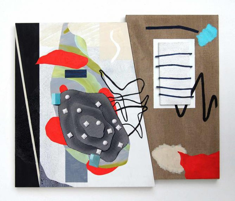 """Schism."" 20"" x24"" 2015. | Courtesy of Brett Flanigan"