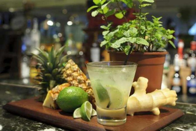 Ginger-pina mojito | Courtesy of AMBA