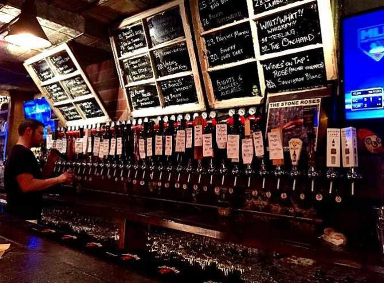 On Tap at Fool's Gold | © Olivia Edwards