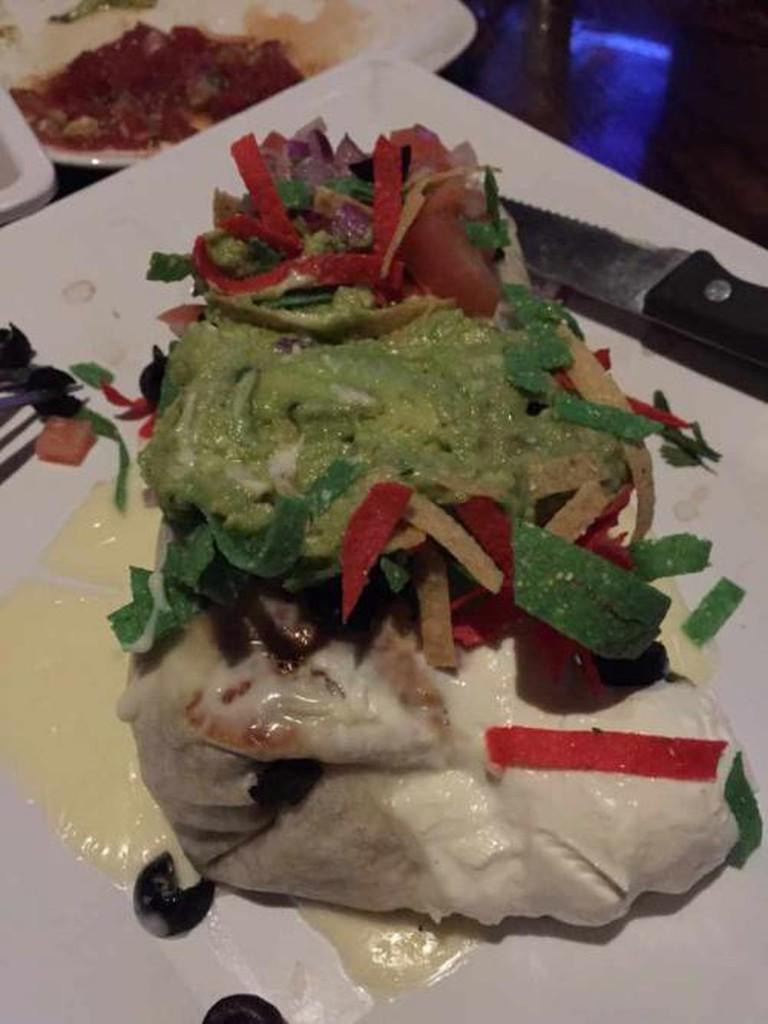 Burrito (Green Lemon Mexican Restaurant, Tampa)