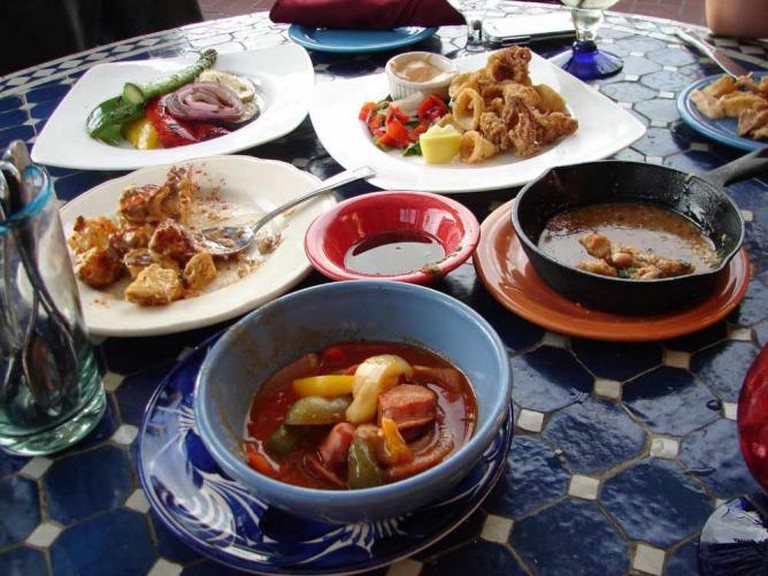 Assortment of Tapas at Ceviche