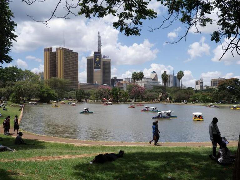 The artificial lake at Uhuru Park | © jennifer wu/Flickr