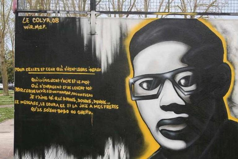 Hommage à fr:Aimé Césaire sur le Skatepark de Royan | © Barraki/Wikicommons