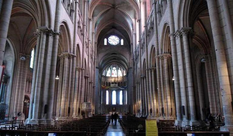 Interior of Cathédrale Saint-Jean-Baptiste de Lyon | © Chris 73/WikiCommons