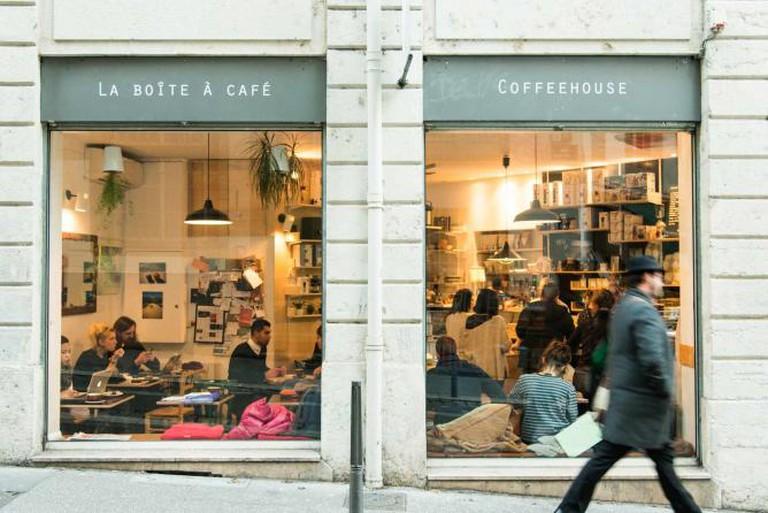 La Boîte a Café Mokxa from outside | Courtesy of Mokxa © Avocadi