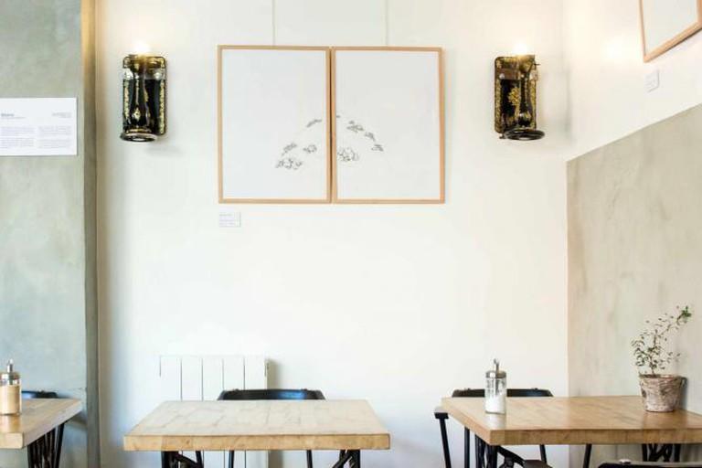 Interior of Le Kitchen Café | Courtesy of Le Kitchen Café © Adeline Maillet