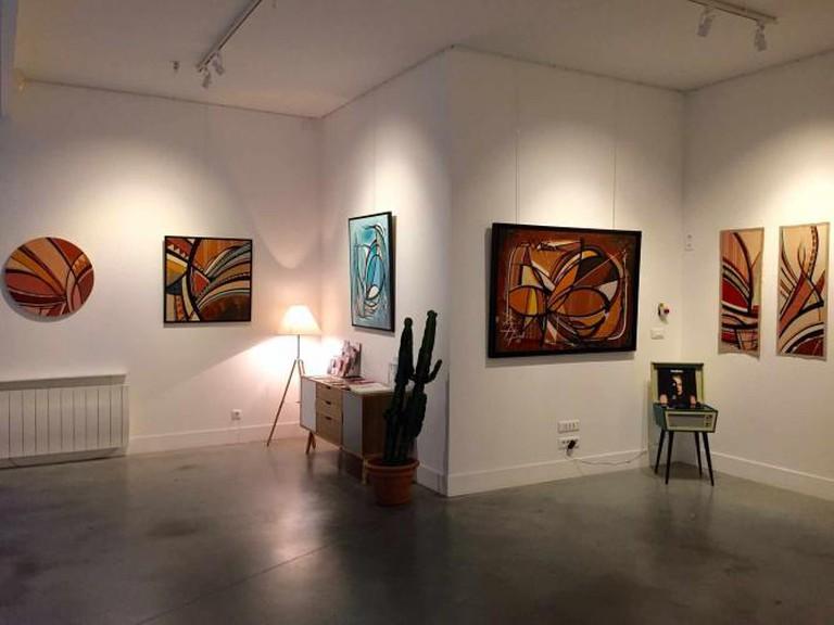 Interior of Galerie Clémouchka | Courtesy of Galerie Clémouchka