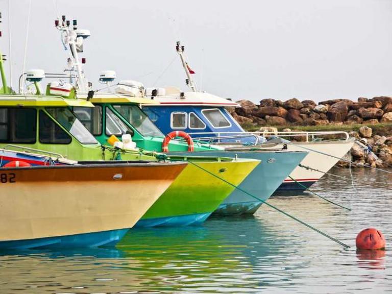 Colorful boats   © Korz 19/Flickr