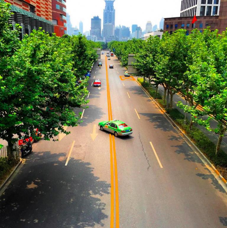Shanghai taxi