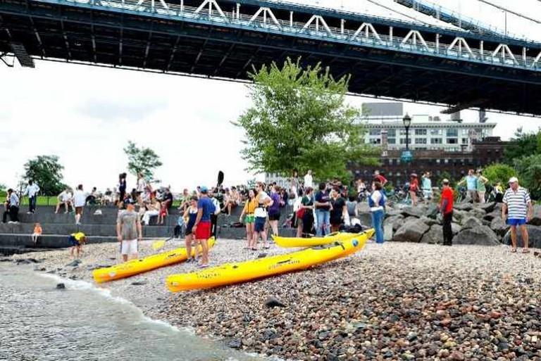 Brooklyn Bridge Park Kayaking