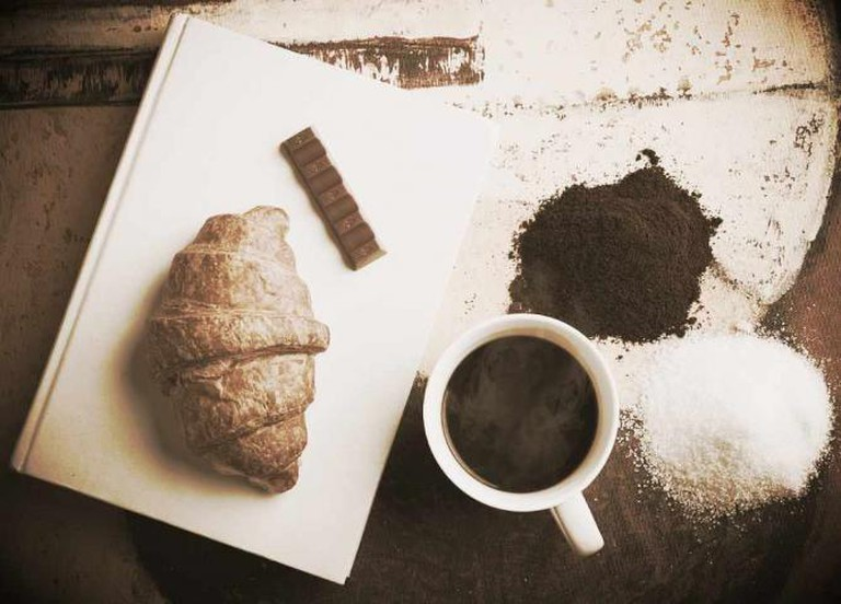 Croissant & Coffee | © Unsplash/Pixabay