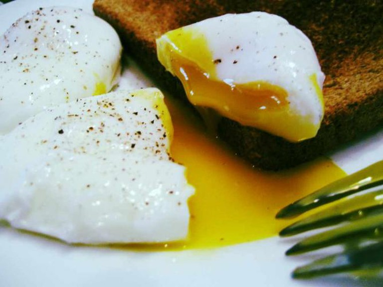 Poached Eggs | © Stacy Spensley/Flickr