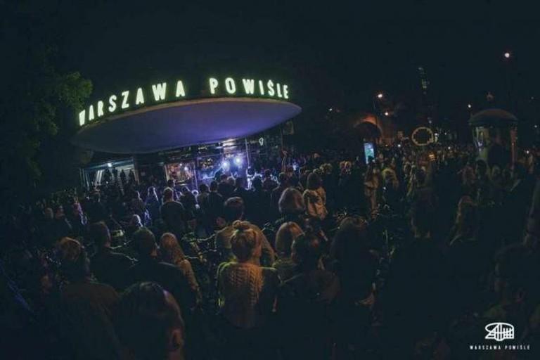 A concert at Warszawa Powiśle