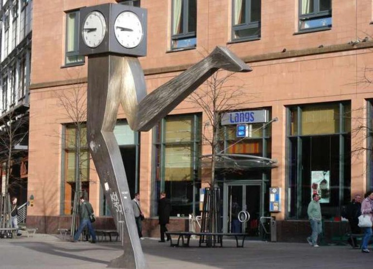 The Clyde Clock Glasgow, Running Time | © Bob Leckridge/Flickr