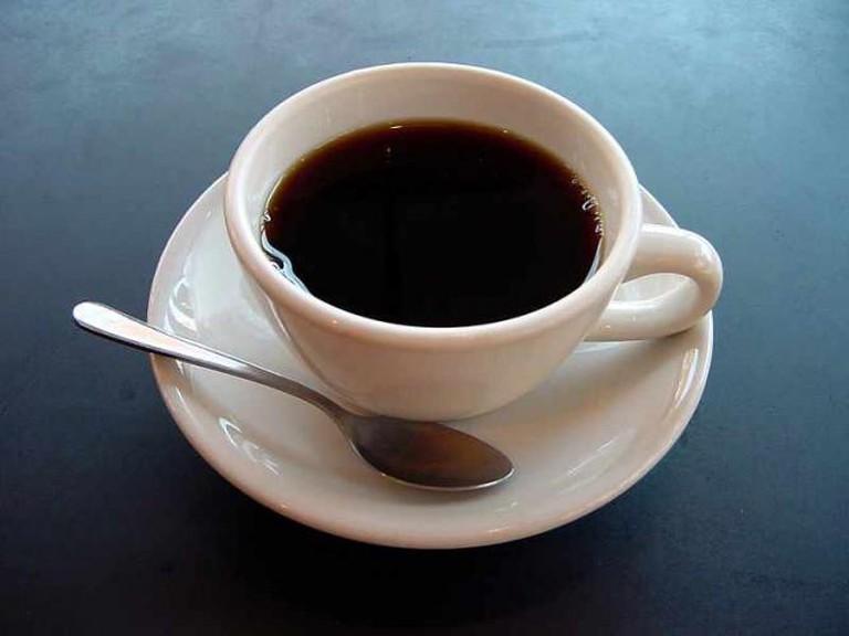 A cup of black coffee | © Julius Schorzman/WikiCommons