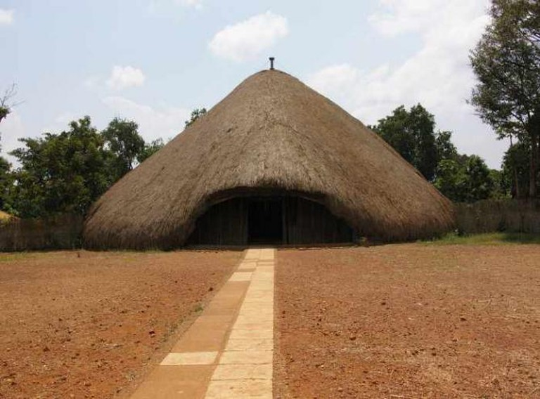 Entrance of The Kasubi Tombs