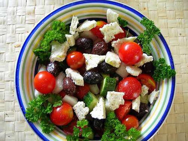greek salad | © Stephen Rees/Flickr
