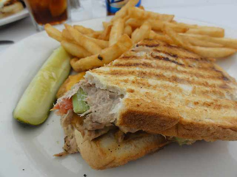 Tuna Panini | © inazakira/Flickr