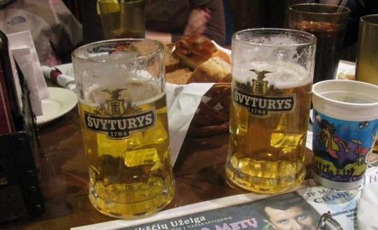 Švyturys - the most popular Lithuanian beer | © Eden, Janine and Jim/Flickr