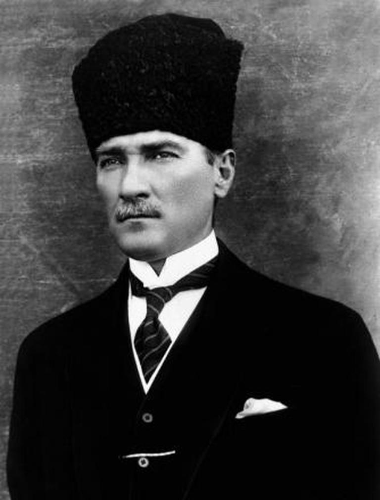 Photo of Mustafa Kemal Atatürk