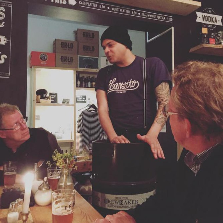 Tasting session | Courtesy Berlin Craft Beer Experience