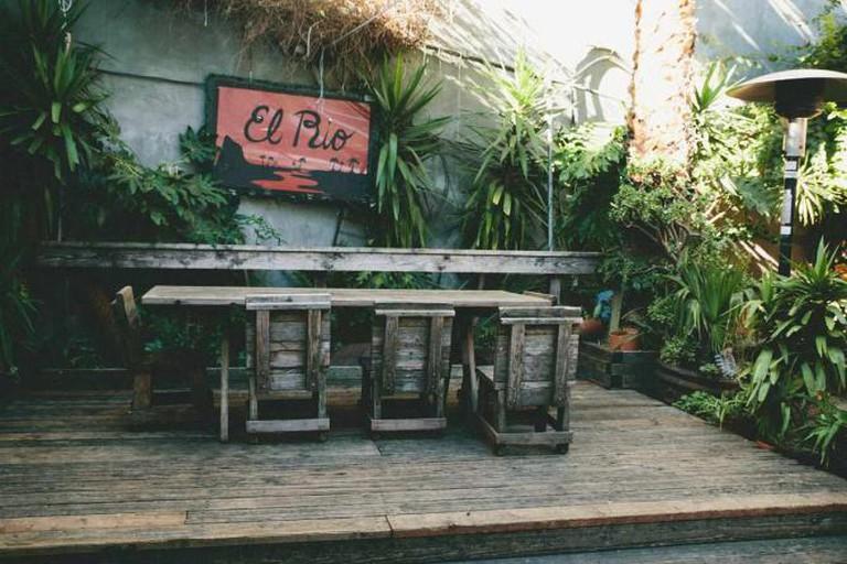 El Rio's tropical and spacious venue
