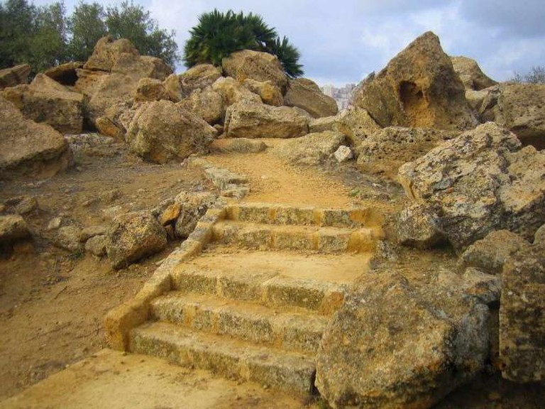 In Agrigento Valley of Temples