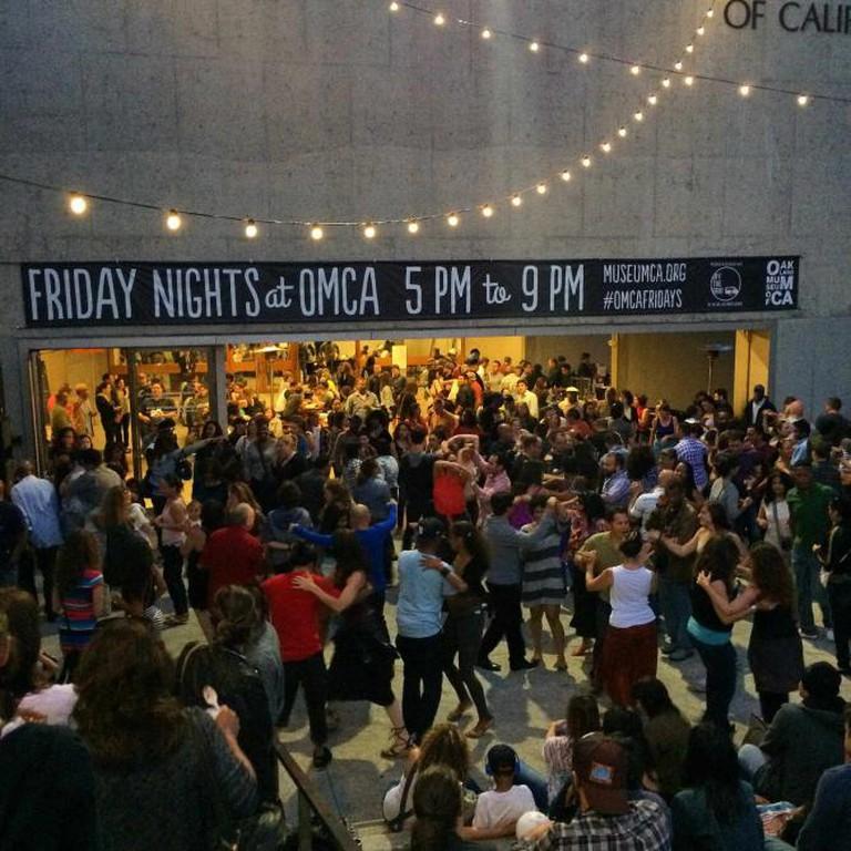 Oakland Museum Friday nights