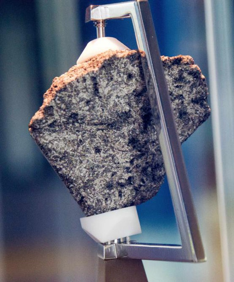 Moon Rock at Chabot Space Center