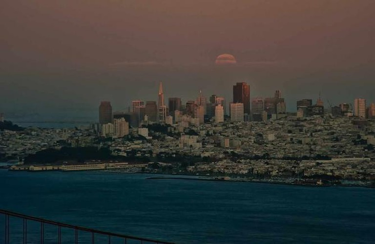 San Francisco by moonrise © Anita Ritenour/Flickr