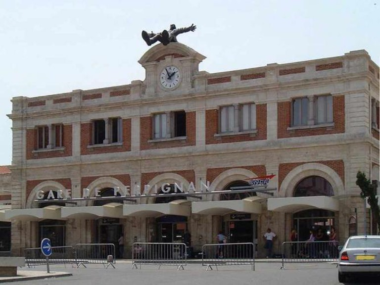 La Gare de Perpignan, with Dalí statue | © Monster1000/WikiCommons