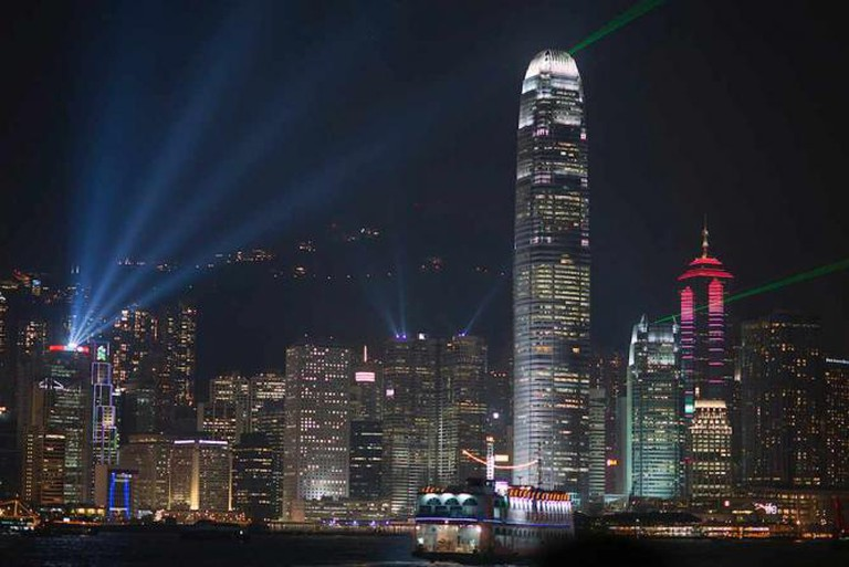 Hong Kong at night | © Barbara Willi/Flickr