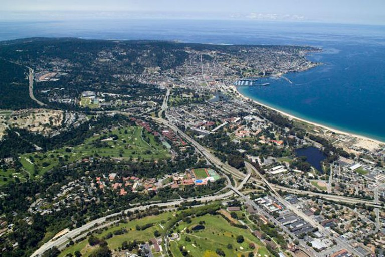Aerial View Monterey CA