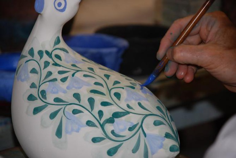 Clay Pottery Painting l