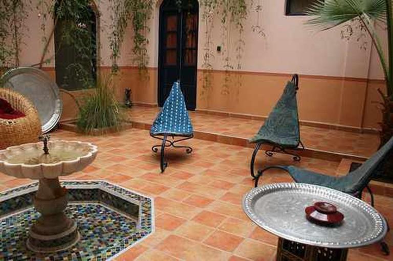 Moroccan Riad | © Damien Ayers/Flickr