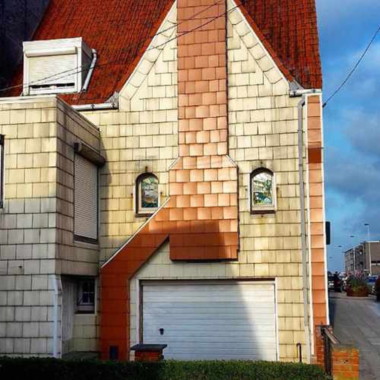 """Why is your house wearing a snorkel mask?"" 