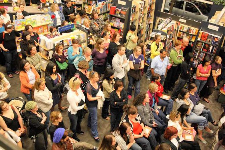 A kids' reading event at Books Inc   Courtesy of Books Inc