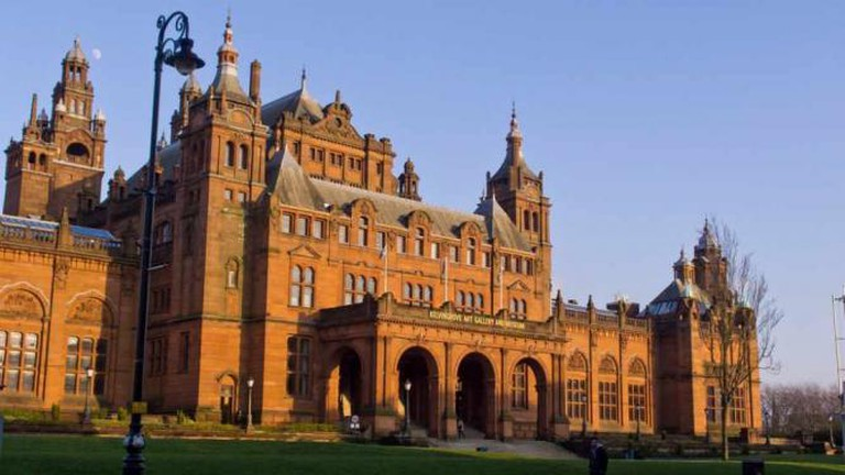 Kelvingrove Art Gallery and Museum in Glasgow's West End